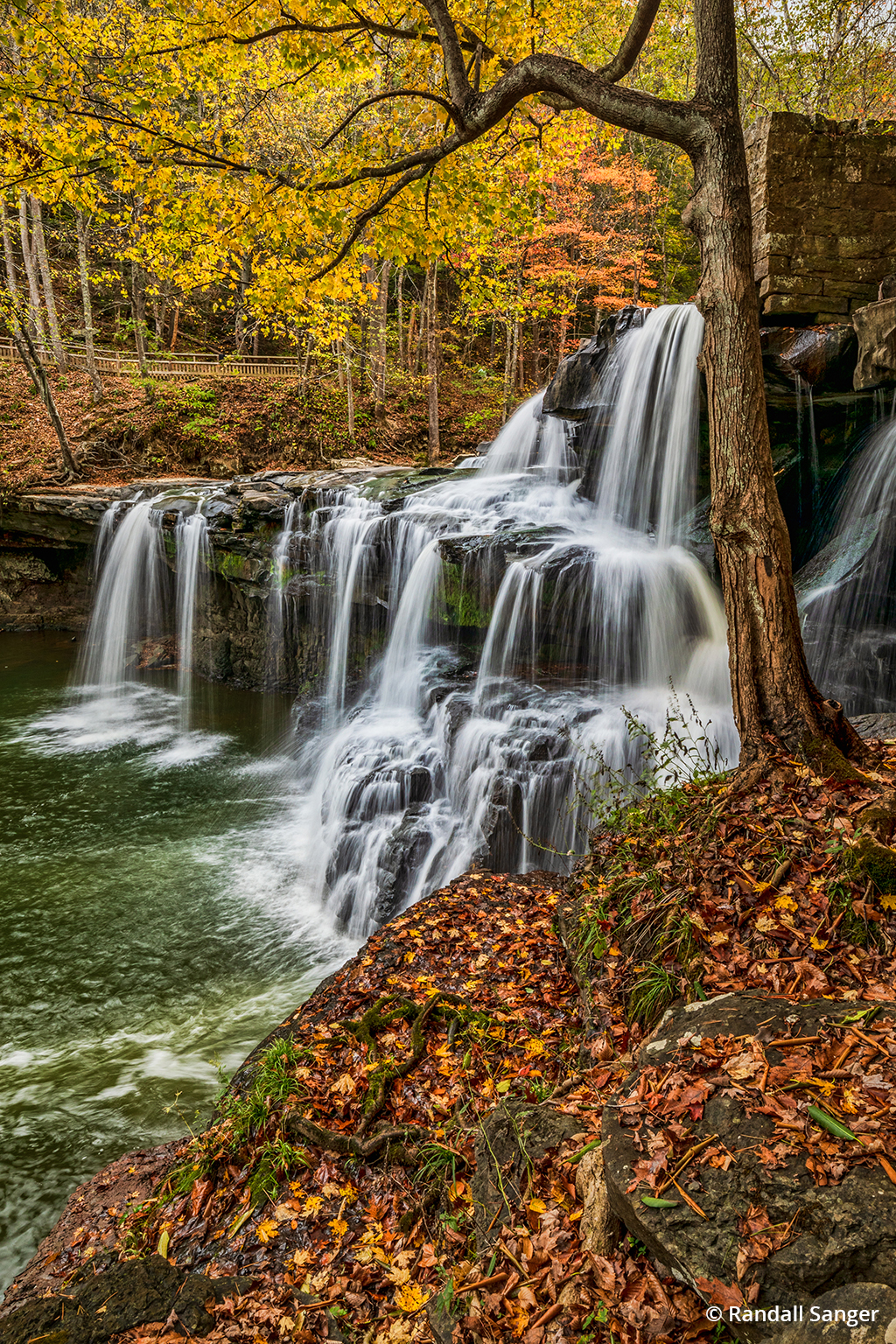 Waterfalls Of New River Gorge