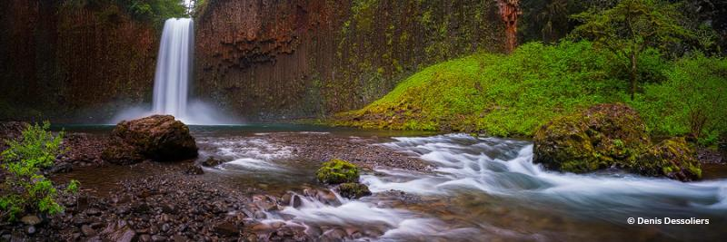 """Today's Photo Of The Day is """"Powerful Falls"""" by Denis Dessoliers. Location: Scotts Mills, Oregon."""