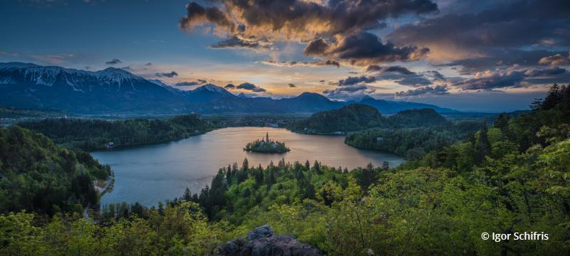 Today's Photo Of The Day is Lake Bled, Slovenia By Igor Schifris.