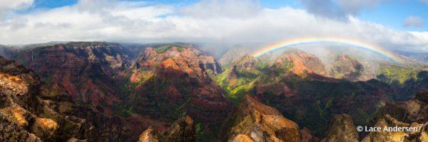 "Today's Photo Of The Day is ""Waimea Canyon"" by Lace Andersen. Location: Kauai, Hawaii."