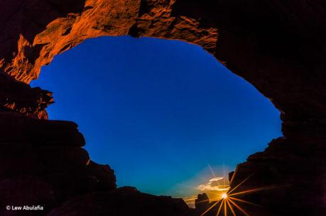 "Today's Photo Of The Day is ""Arches National Park Sunrise"" by Lew Abulafia. Location: Utah."