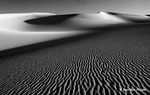 Behind The Shot: Desert Waves—Mesquite Dunes, Death Valley National Park, California