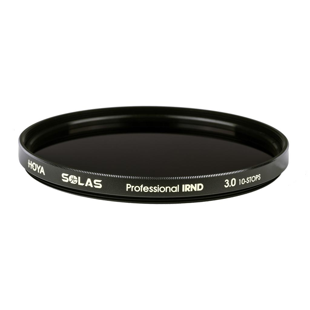 Hoya has a new, exclusive to U.S. customers, line of Solas infrared neutral density filters.
