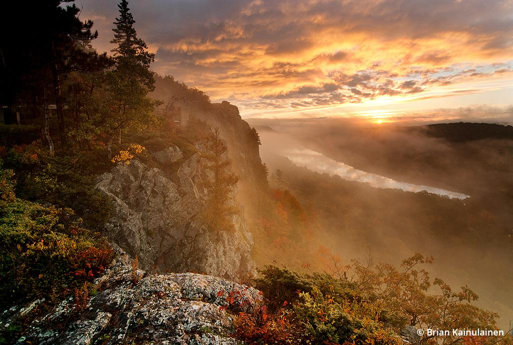 """Today's Photo Of The Day is """"Dawning of a New Day"""" by Brian Kainulainen. Location: Porcupine Mountains Wilderness State Park, Michigan."""