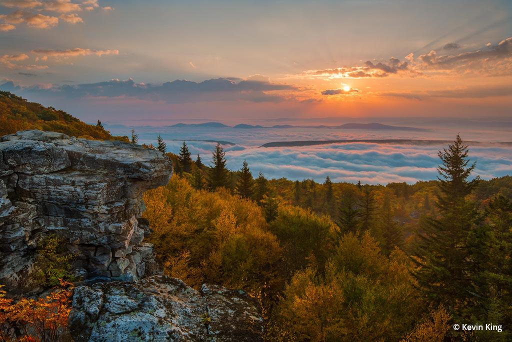 """Today's Photo Of The Day is """"New Day"""" by Kevin King. Location: Dolly Sods Wilderness Area, West Virginia."""