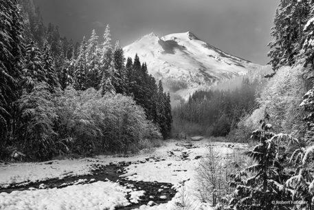Behind The Shot: The Snow King By Robert Faucher. Mount Baker, Washington.