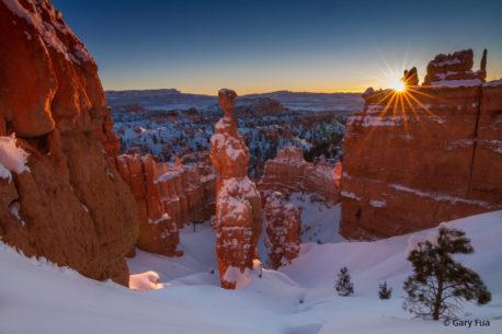 "Today's Photo Of The Day is ""Allegory"" by Gary Fua. Location: Thor's Hammer, Bryce Canyon National Park, Utah."