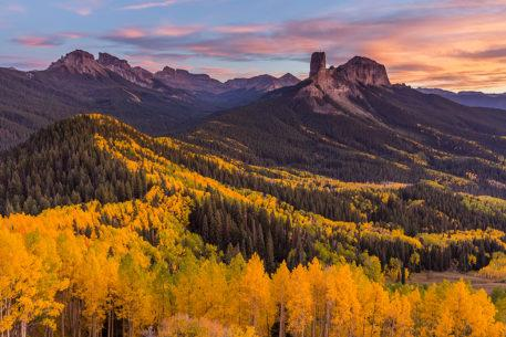Colorado Fall Color - San Juan Mountains