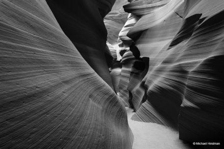 "Today's Photo Of The Day is ""Ride the Wave"" by Michael Hindman. Location: Antelope Canyon, Arizona."
