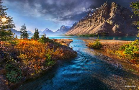 """Today's Photo Of The Day is """"My Nirvana"""" by Sherry Bell. Location: Banff National Park, Alberta, Canada."""