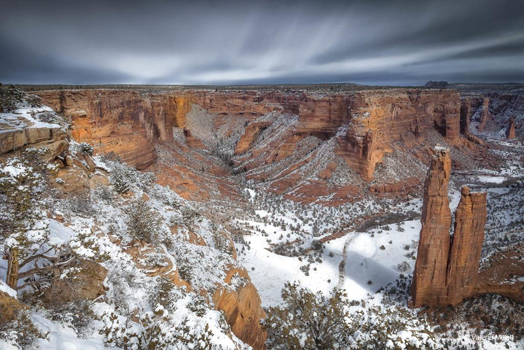"""Today's Photo Of The Day is """"Canyon de Chelly II"""" by Valerie Millett. Location: Canyon de Chelly National Monument, Arizona."""