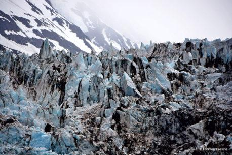 "Today's Photo Of The Day is ""Glaciers Closeup"" by Lorenzo Cassina. Location: Alaska."