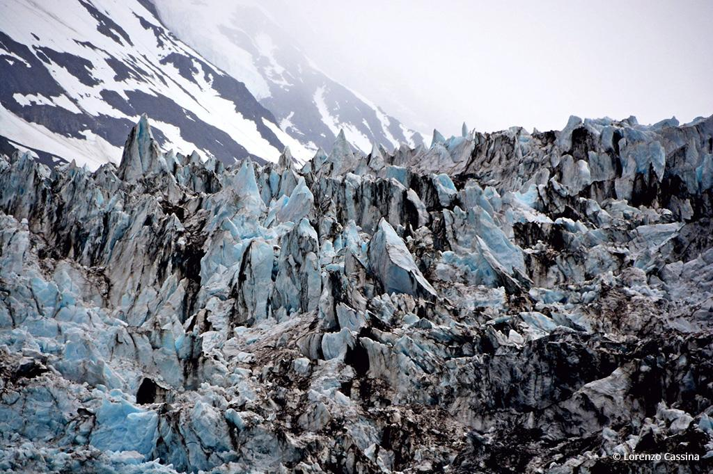 """Today's Photo Of The Day is """"Glaciers Closeup"""" by Lorenzo Cassina. Location: Alaska."""