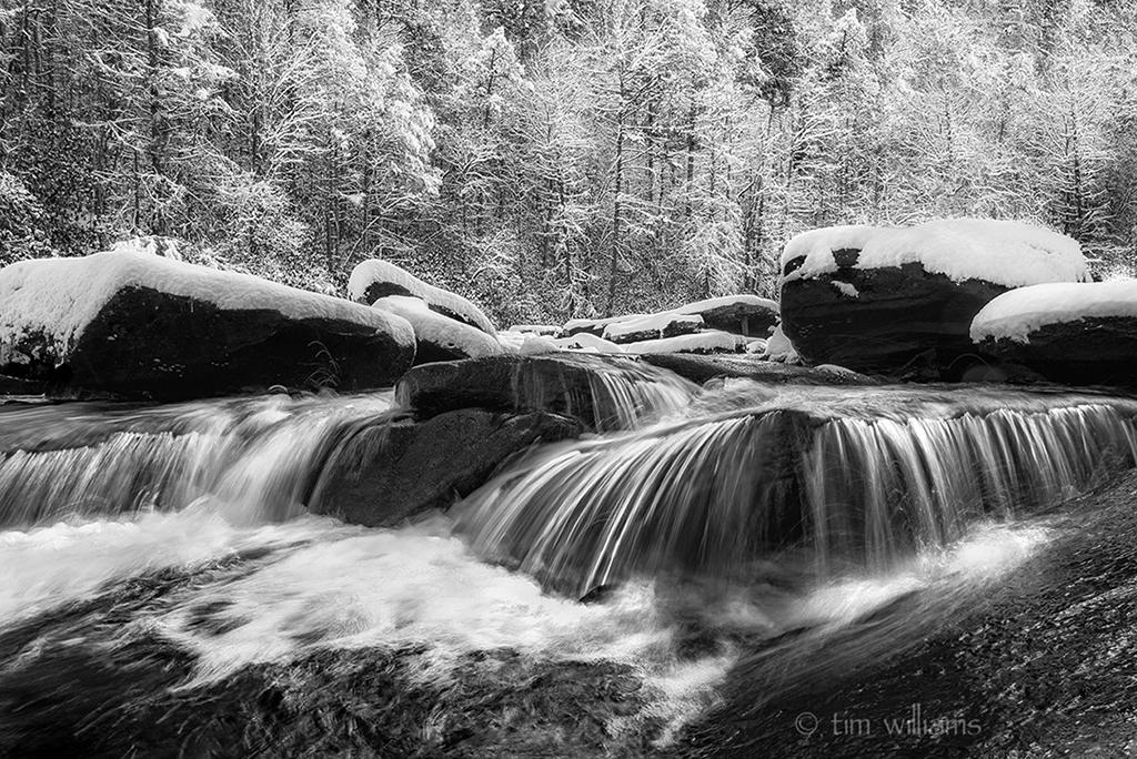 Congratulations to Tim Williams for winning the recent Winter Landscape In Black-And-White Assignment
