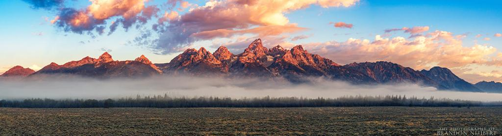 "Today's Photo Of The Day is ""Teton Mist"" by Brandon Neubert. Location: Wyoming."