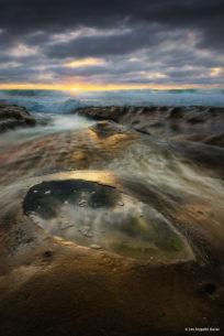 """Today's Photo Of The Day is """"Stormwatch"""" by Les Zeppelin Baran. Location: Hospitals reef, La Jolla, California."""