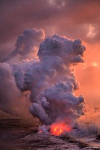 """Today's Photo Of The Day is """"Earth Maker"""" by Vincent James. Location: Hawaii Volcanoes National Park."""