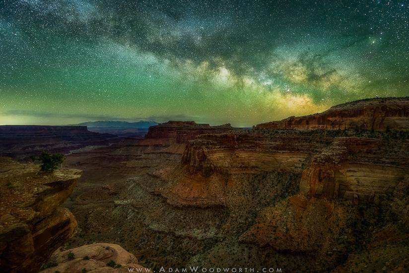 Milky Way Canyon