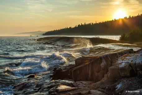 """Today's Photo Of The Day is """"Wave Action"""" by Beau Liddell. Location: Superior National Forest, Minnesota."""