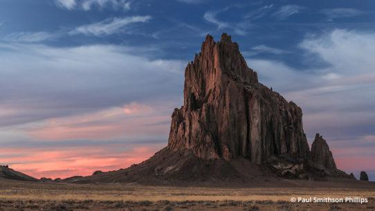 Shiprock by Paul Smithson Phillips