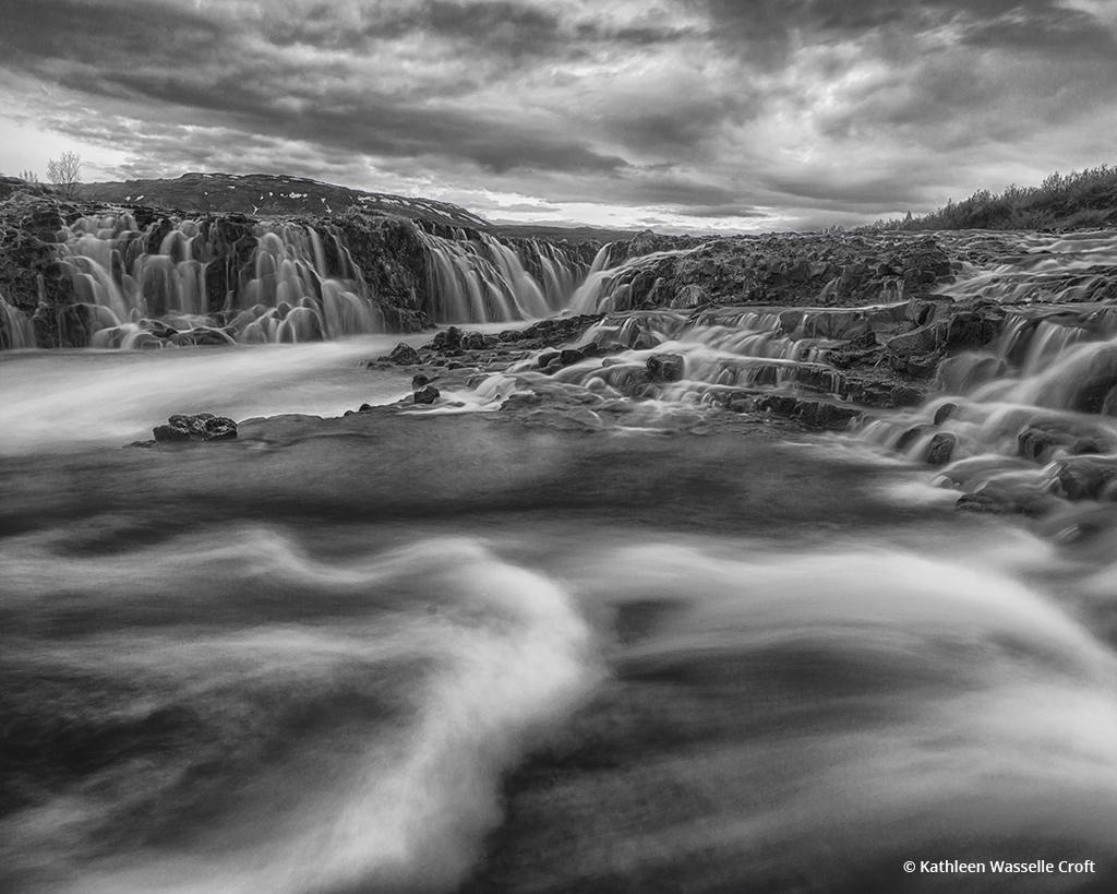 """Today's Photo Of The Day is """"Bruarfoss"""" by Kathleen Wasselle Croft. Location: Iceland."""