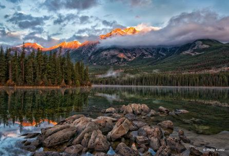"Today's Photo Of The Day is ""Jasper Dawn"" by Philip Kuntz. Location: Jasper National Park, Alberta, Canada."