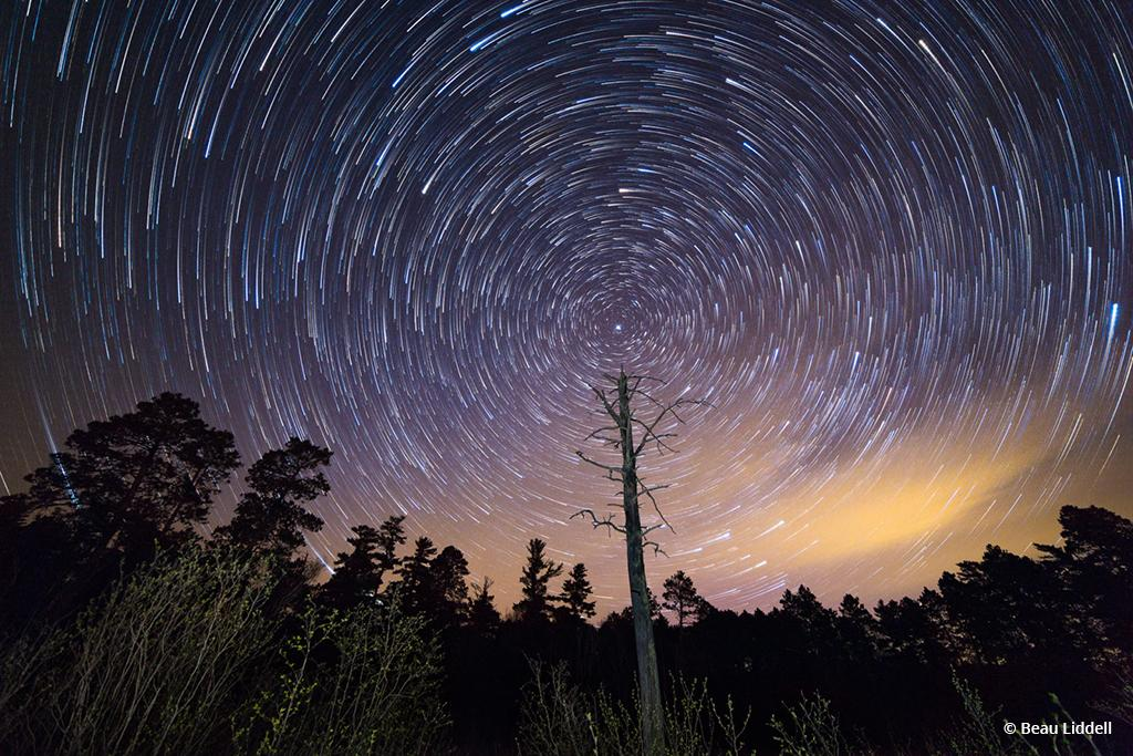 Dorace Lake Star Trails