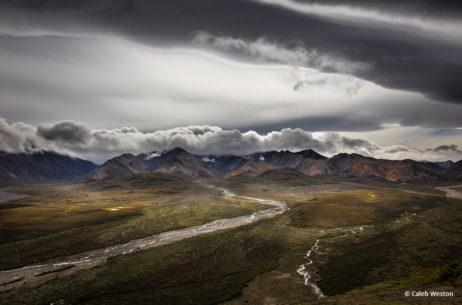 """Congratulations to Caleb Weston for winning the Dramatic Skies Assignment with his image, """"Polychrome Overlook, Denali National Park."""""""