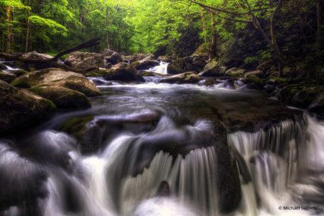 """Today's Photo Of The Day is """"Smoky Mountain River"""" by Michael Swindle. Location: Great Smoky Mountain National Park, Tennessee."""