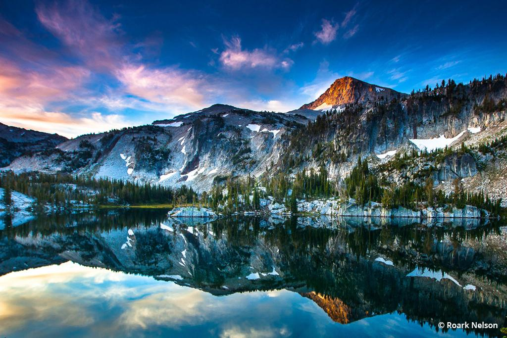 """Today's Photo Of The Day is """"Mirror Lake at Dawn"""" by Roark Nelson. Location: Eagle Cap Wilderness, Oregon."""