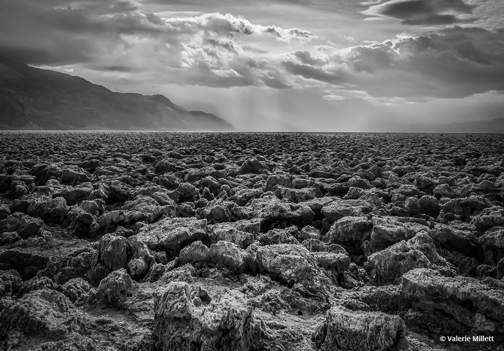 """Today's Photo Of The Day is """"Desert Storms"""" by Valerie Millett. Location: Death Valley National Park, California."""
