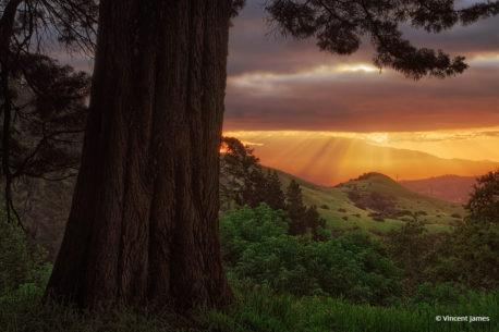 "Today's Photo Of The Day is ""Over The Hills"" by Vincent James. Location: Sibley Volcanic Natural Preserve, California."