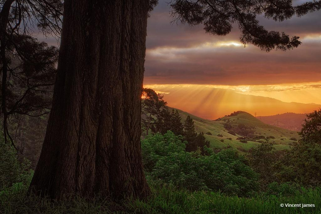 """Today's Photo Of The Day is """"Over The Hills"""" by Vincent James. Location: Sibley Volcanic Natural Preserve, California."""