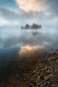 "Today's Photo Of The Day is ""Misty Dawn on the Quabbin"" by Ed Mcguirk. Location: Quabbin Reservoir, Massachusetts."