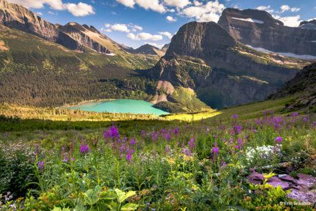 "Today's Photo Of The Day is ""Along Grinnell Glacier Trail"" by Erin Braaten. Location: Glacier National Park, Montana."