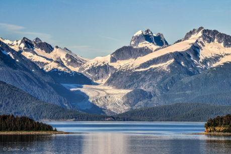 "Today's Photo Of The Day is ""Alaskan Glacier & Inlet"" by Stephen Kapp. Location: Alaska."