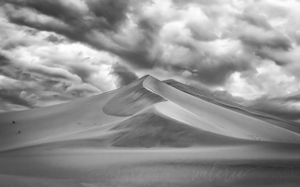 """Today's Photo Of The Day is """"Dunes"""" by Valerie Millett. Location: Ibex Dunes in Death Valley National Park."""