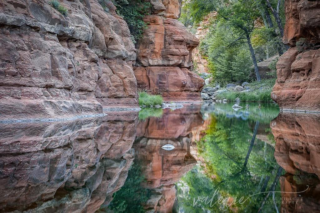 "Today's Photo Of The Day is ""Oak Creek Canyon"" by Valerie Millett. Location: Arizona."