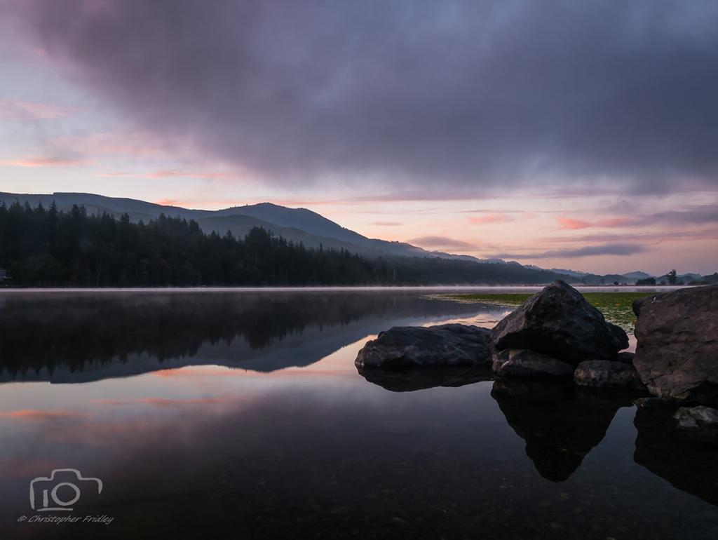 """Today's Photo Of The Day is """"Clear Lake, Washington"""" by Christopher Fridley."""