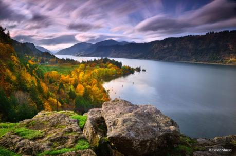 "Today's Photo Of The Day is ""Columbia River Gorge"" by David Shield. Location: Oregon."