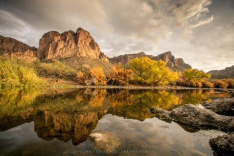 "Today's Photo Of The Day is ""Subtle Seasons"" by Gerry Groeber. Location: Tonto National Forest, Arizona."