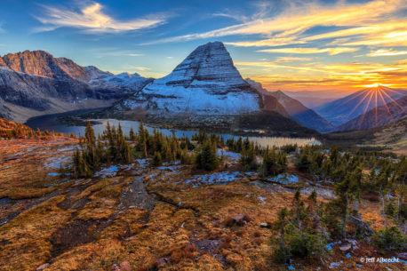 "Today's Photo Of The Day is ""Stanton Star Sunset"" by Jeff Albrecht. Location: Glacier National Park, Montana."