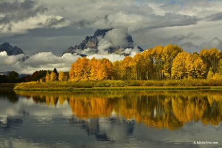 "Today's Photo Of The Day is ""Afternoon at the Oxbow"" by Michel Hersen. Location: Grand Teton National Park, Wyoming."