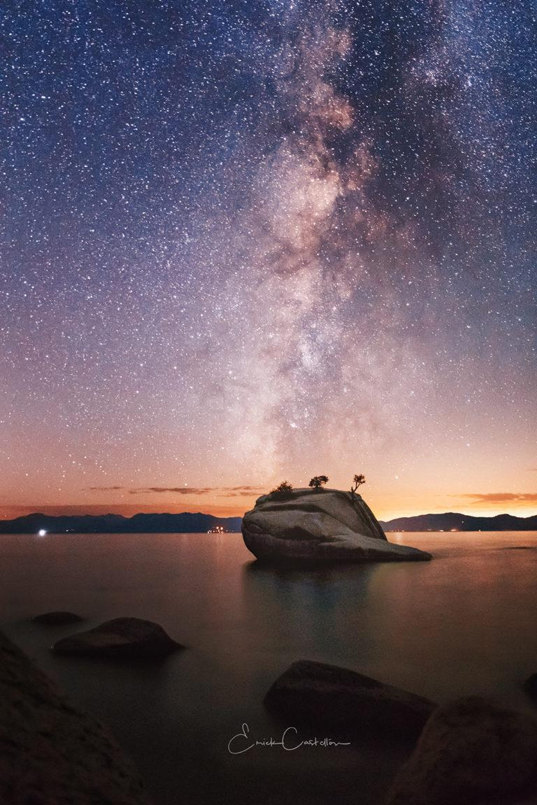 """Today's Photo Of The Day is """"All Along The Star Tower"""" by Erick Castellon. Location: Sand Harbor, Nevada."""
