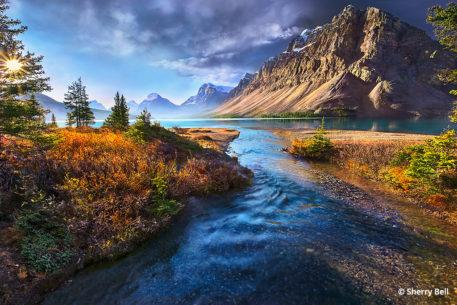 Bow Lake Banff National Park, Alberta, Canada