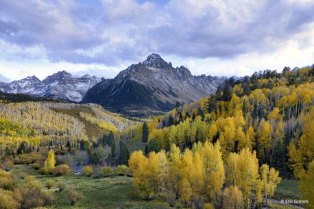 "Today's Photo Of The Day is ""Mount Sneffels"" by Eric Grimm. Location: Near Ridgway Colorado."