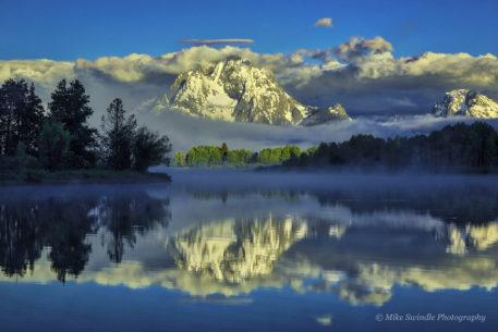 "Today's Photo Of The Day is ""Mountain Reflections"" by Michael Swindle. Location: Grand Teton National Park, Wyoming."