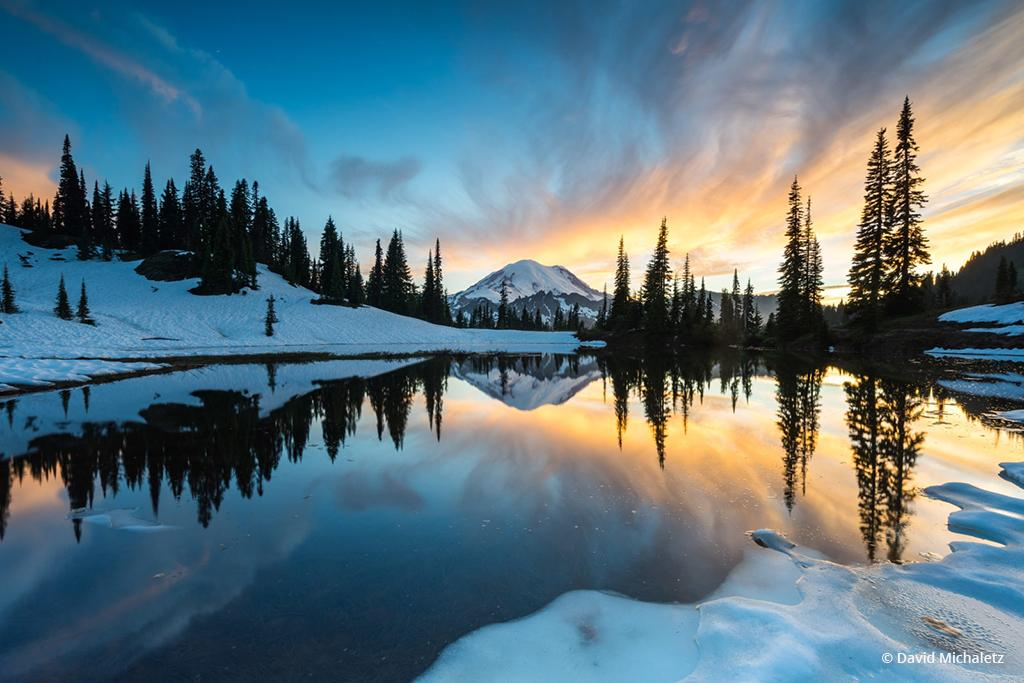 """Today's Photo Of The Day is """"Fire & Ice"""" by David Michaletz."""