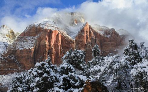 "Today's Photo Of The Day is ""Zion in the Clouds"" by Laura Zirino. Location: Utah."