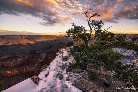 "Today's Photo Of The Day is ""Living on the Edge"" by Les Zeppelin Baran. Location: Grand Canyon National Park, Arizona."